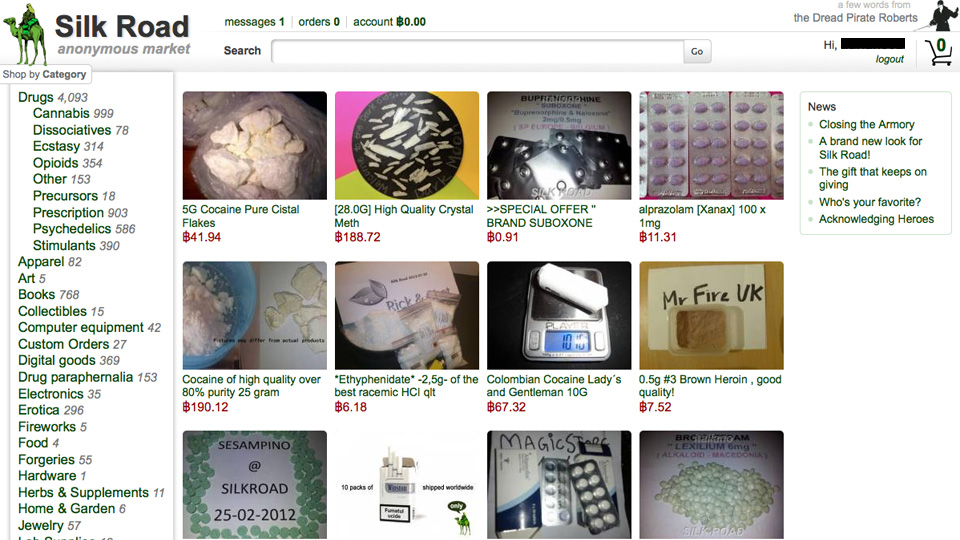 Purchasing on silk road a trip report the hidden wiki buying on silk road after having discovered the deep web ccuart